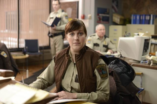 Dans Fargo, une détective (Allison Tolman) d'une petite... (Photo fournie par FX)