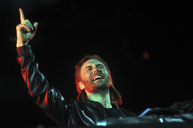 David Guetta... (PHOTO ARCHIVES AFP)