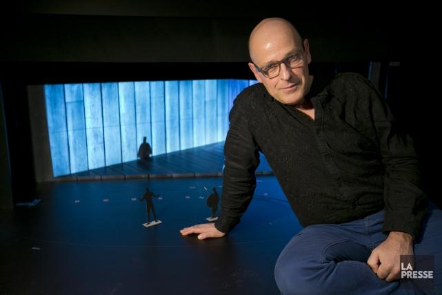 Le metteur en scène Alain Gauthier a voulu... (PHOTO DAVID BOILY, LA PRESSE)