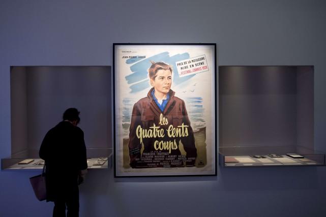 L'exposition consacrée à François Truffaut se tient depuis... (PHOTO LIONEL BONAVENTURE, AFP)
