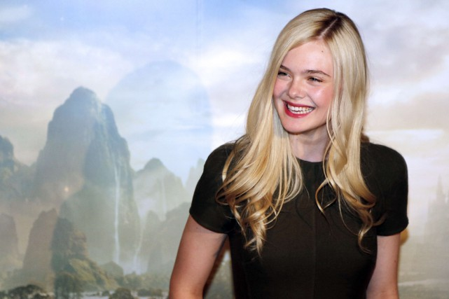 Elle Fanning... (PHOTO ARCHIVES AFP)
