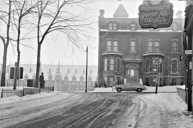 L'intersection de la rue d'Artigny et la Grande... (Photo Archives de la Ville de Quebec)