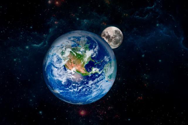 La gravité que la Lune exerce est infinitésimale:... (Photo Shutterstock, Filipe Fraza0)