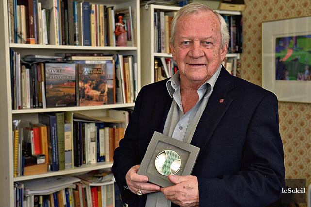 Durant toute sa carrière, l'historien Jacques Mathieu n'a... (Le Soleil, Patrice Laroche)