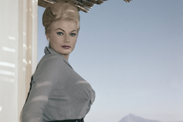 Anita Ekberg en 1960.... (PHOTO ARCHIVES ASSOCIATED PRESS)
