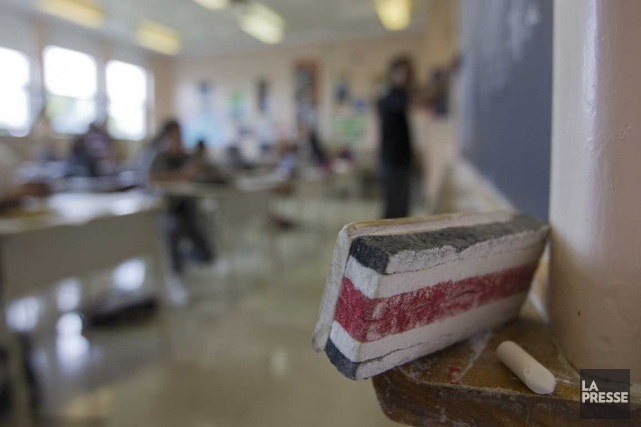 Dans son texte de 500 mots, l'élève qui... (PHOTO IVANOH DEMERS, ARCHIVES LA PRESSE)