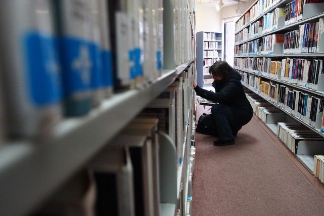 La bibliothèque municipale de Granby fait figure de... (Photo Alain Dion)