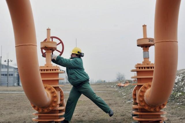 L'opérateur du réseau de gazoducs hongrois FGSZ a annoncé dimanche avoir repris... (Photo: AFP)
