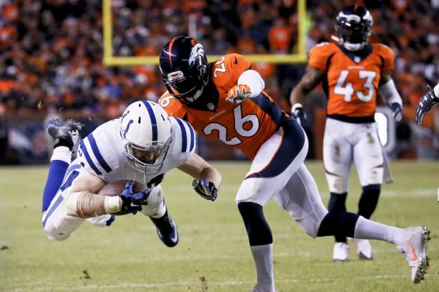 Andrew Luck l'a enfin sa victoire mémorable dans la NFL, et il l'a acquise face... (Photo: AP)