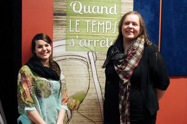 La directrice du Cinoche 2015, Marie-Hélène Beaudry, et... (Collaboration spéciale Steeve Paradis)