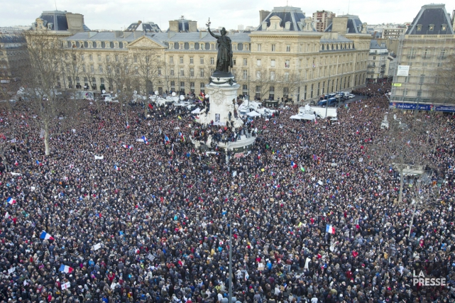 On estime à un million et demi le... (PHOTO PETER DEJONG, AP)