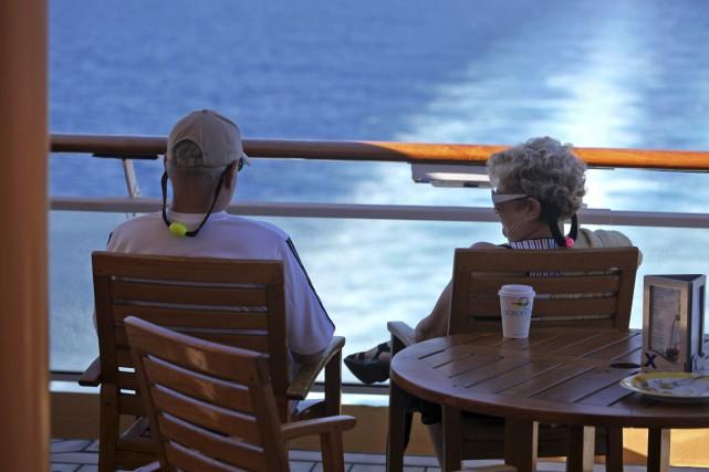 Armand, 70 ans, et Christine, 67 ans, sont... (PHOTO BLOOMBERG)