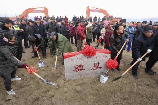 La construction d'un troisième aéroport à Pékin s'est... (PHOTO REUTERS)