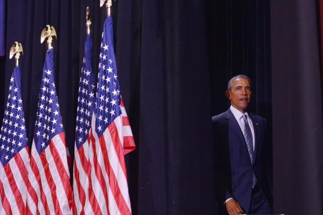 Le président américain Barack Obama a été critiqué... (PHOTO MANDEL NGAN, ARCHIVES AFP)