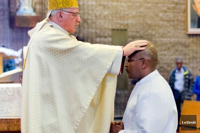 Membre engagé de la communauté catholique des Haïtiens de l'Outaouais,Joseph... (Martin Roy, LeDroit)