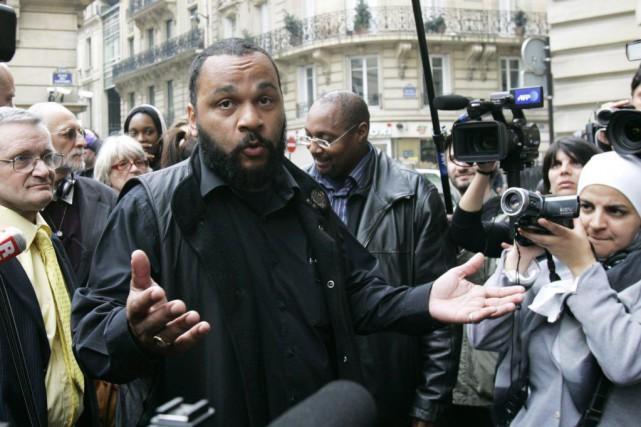 «Je me sens Charlie Coulibaly», a écritDieudonnésur sa... (Photo d'archives, AP)