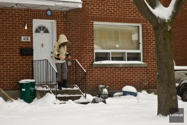 Carlos et Ashton Larmond habitaient dans cette résidence... (PHOTO MARTIN ROY, LE DROIT)