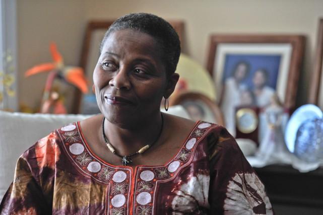 Violène Gabriel retournera bientôt en Haïti, pour aider... (Martin Roy, LeDroit)