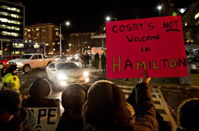 Les admirateurs de Bill Cosby ont dû braver,... (La Presse Canadienne)