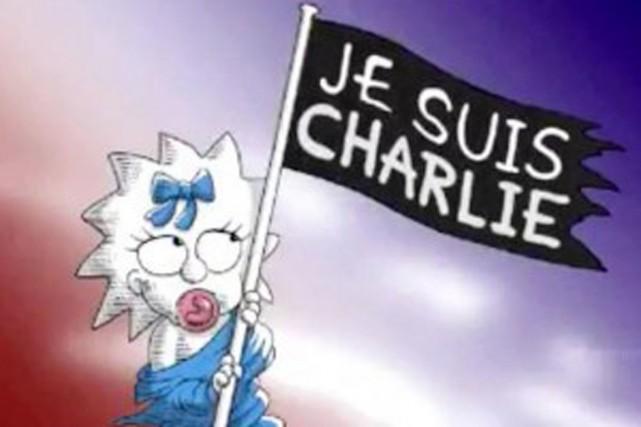Les Simpsons rendent hommage aux victimes des attentats... (PHOTO FOX/BIGBROWSER)