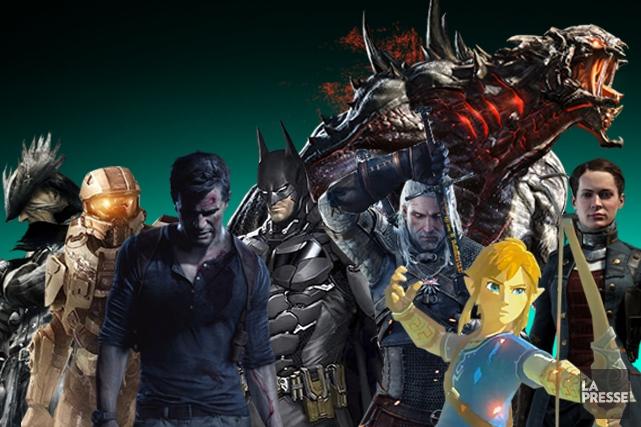 2014, c'était l'année de rodage de la nouvelle génération de consoles.... (PHOTOMONTAGE LA PRESSE)