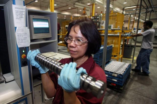 Implantée dans 12 pays,Linamar veut produire des transmissions... (Photo NORM BETTS, Bloomberg)