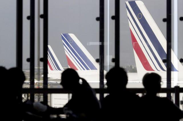 Air France escompte prendre des parts de marché... (PHOTO KENZO TRIBOUILLARD, ARCHIVES AFP)