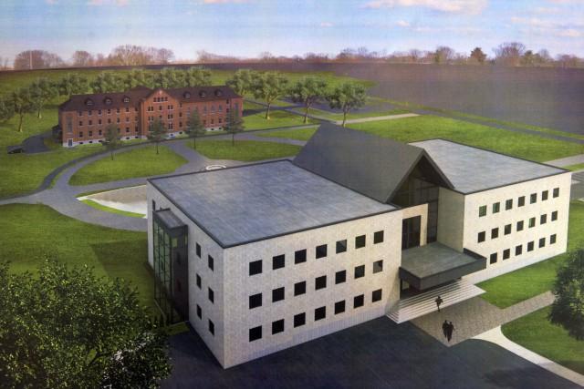 Un aperçu du futur campus de l'UQTR à...