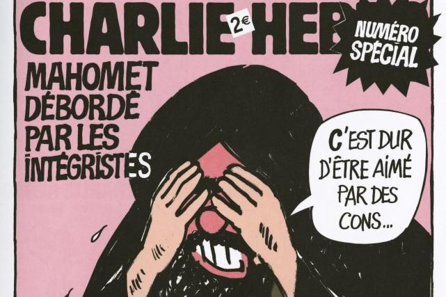 «Les âmes courageuses deCharlie Hebdoont protégé notre liberté... (Photo Charlie Hebdo)