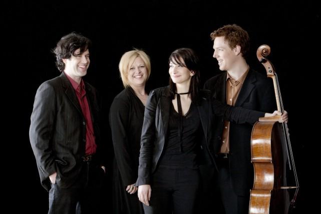 Le Quatuor Ponticello donnera deux concerts à Saint-Prime... ((Courtoisie))