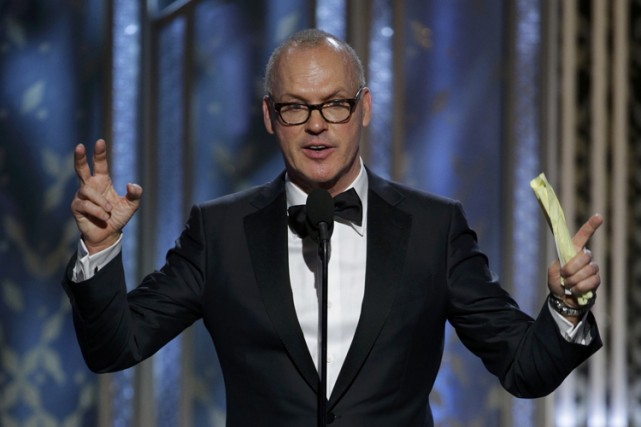 Selon les analystes, Michael Keaton, lauréat du Golden... (Photo: Reuters)