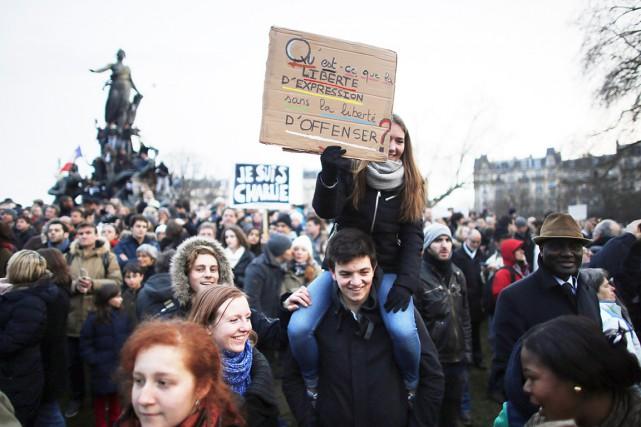 Les marches en hommage aux victimes des attentats... (Agence France-Presse)