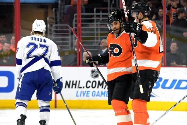 Jakub Voracek a sonné la charge pour un deuxième vingt de cinq buts des Flyers... (Photo: Reuters)