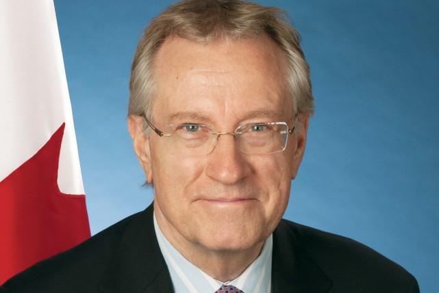 Art Eggleton, ancien maire de Toronto et ex-député,...