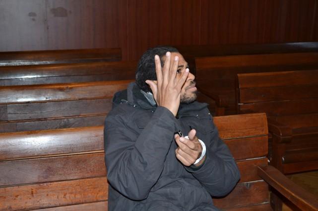 M. Joachin, 29 ans, d'origine haïtienne, avait été... (PHOTO MILEN VALCHEV, AP/HASKOVSKA MARITS)