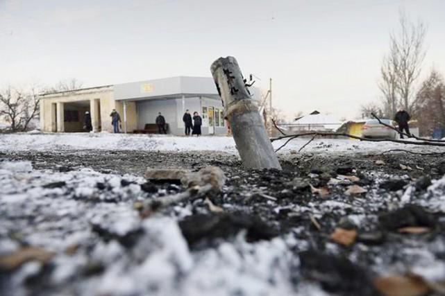 Le service de presse de l'opération ukrainienne dans... (PHOTO TIRÉE DE TWITTER)