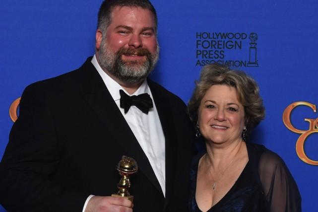 Le réalisateur Dean DeBlois et la productrice Bonnie... (PHOTO FREDERIC J BROWN, AFP)