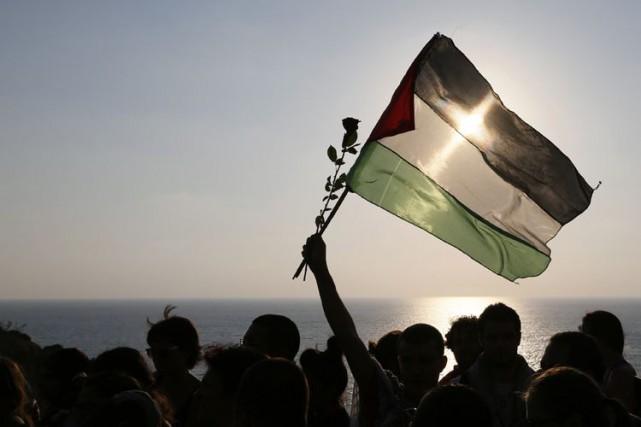 La Palestine est sur le point d'adhérer à la Cour pénale internationale avec... (Archives Reuters)