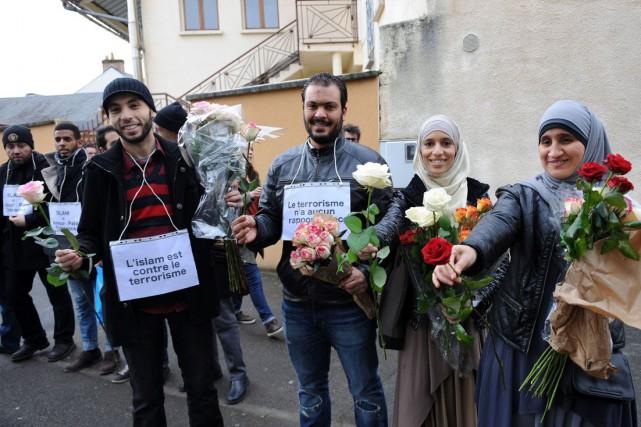 Les musulmans ne vivent pas tous les effets... (Agence France-Presse)
