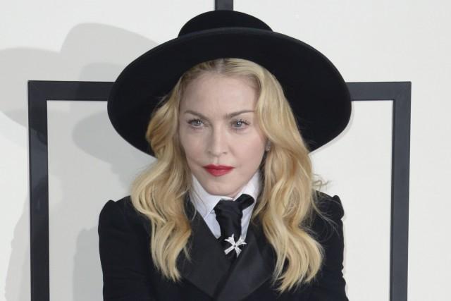 Madonnas'était déjà produite lors des Grammy Awardsde l'an... (Photo Archives AFP)