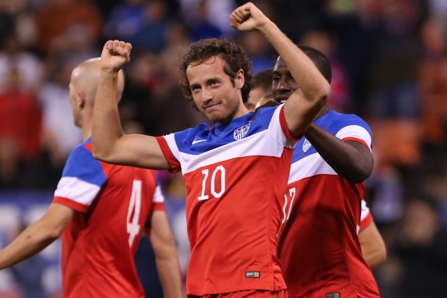 Le milieu de terrain Mix Diskerud a fait partie... (Photo Kelley L. Cox, USA Today Sports)
