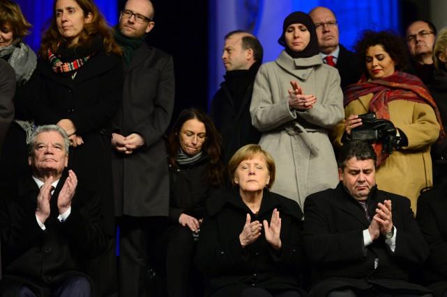 L'Allemagne, forte de quelque 81 millions d'habitants, compte... (Photo JOHN MACDOUGALL, AFP)