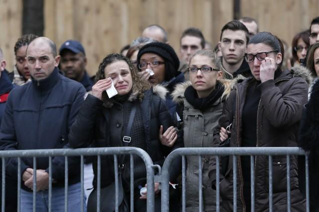 «La France est en guerre contre le terrorisme, le djihadisme et l'islamisme... (Photo GONZALO FUENTES, Reuters)