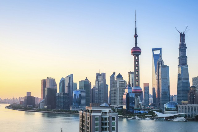 Shanghai, en Chine.... (Photo Digital/Thinkstock)