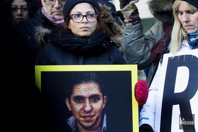 Ensaf Haidar, la conjointe de Raif Badawi, a... (Photo La Presse)