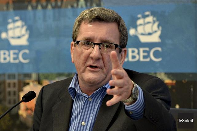 Régis Labeaume réfute l'idée que l'économie de Québec... (Photothèque Le Soleil, Patrice Laroche)