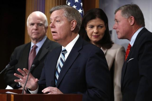 Pour le sénateur Lindsey Graham, certains détenus devraient... (Photo: Reuters)
