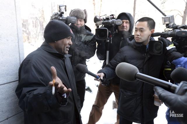 Idris Altahir, le père deSuliman Mohamed,affirme qu'il ne... (La Presse Canadienne)