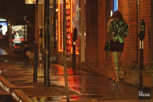 Soixante-seize travailleuses du sexe ont été interrogées dans... (Photothèque La Presse)