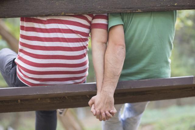 Le tiers des couples de même sexe au Canada était marié en 2016, et environ un... (Photo Digital/Thinkstock)